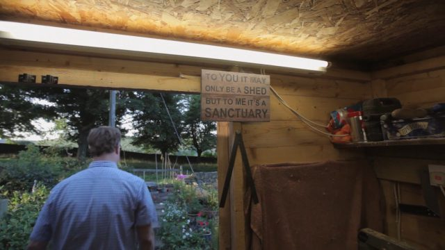 Andrew Hudson's shed