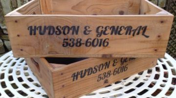Hudson & General crates