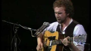 John Martyn on guitar
