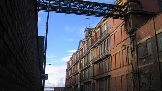 former Sheffield steel factory