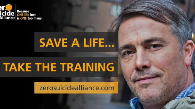 poster: save a life - take the training