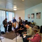 Alice Grenville: Music on the Wards - Open Door Music session on Stanage Ward, Michael Carlisle Centre