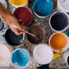 paint pots