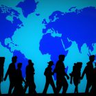 refugees journeying