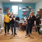 the band on the ward