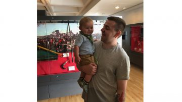 Josh and his nephew