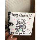 Valentine card in quarantine
