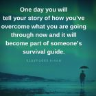 Quotation about telling your story