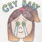 Cry baby logo