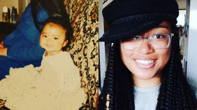 Kat Love growing up