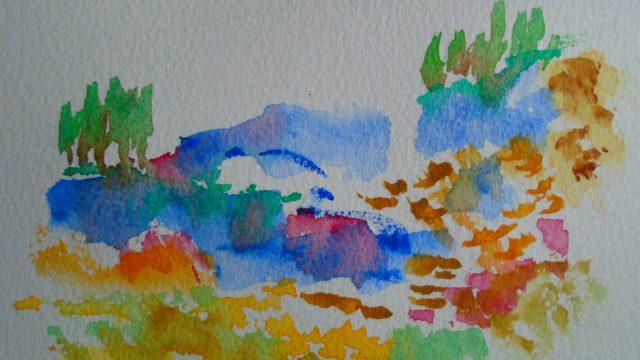 Gerry's artwork entitled Avalon